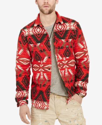 Denim & Supply Ralph Lauren Men's Beacon Southwestern Long-Sleeve Shirt