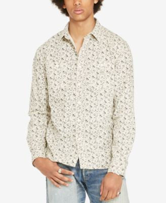 Denim & Supply Ralph Lauren Men's Floral-Print Long-Sleeve Shirt