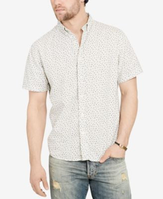 Denim & Supply Ralph Lauren Men's Floral-Print Short-Sleeve Shirt