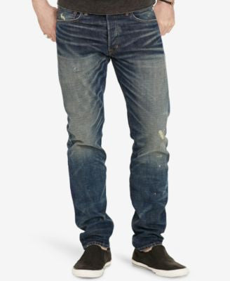 Denim & Supply Ralph Lauren Men's Distressed Denim Jeans