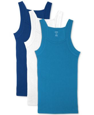 2(x)ist Essentials Square-Cut Tagless Tank, 2+1 Bonus Pack, a Vogily Exclusive