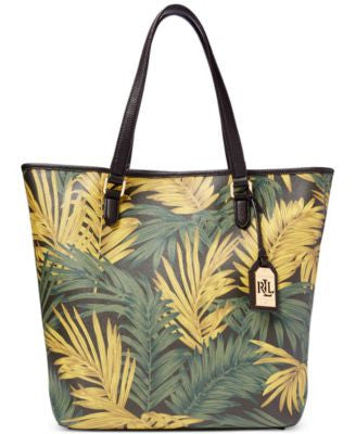 Lauren Ralph Lauren Amberly Palm Dalia North South Tote