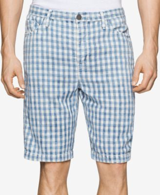 Calvin Klein Men's Check-Print Shorts