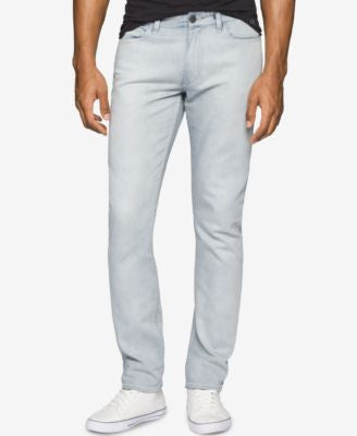 Calvin Klein Jeans Men's Slim-Fit Over Bleach Jeans