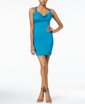 GUESS Lesley Cowl-Neck Bodycon Dress
