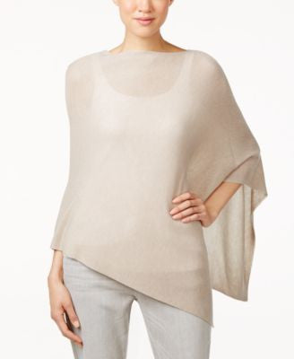 Eileen Fisher Asymmetrical Poncho