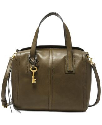 Fossil Emma Leather Satchel