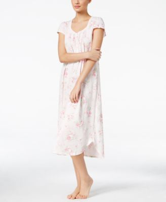 Miss Elaine Lace-Trimmed Nightgown