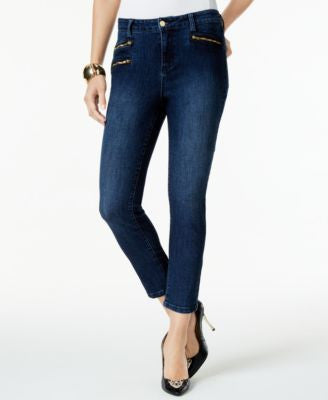 Thalia Sodi Skinny Medium Wash Denim Pants, Only at Vogily