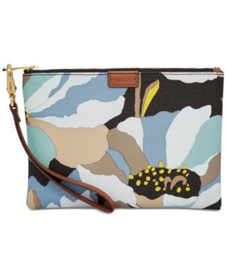 Fossil Small Printed Wristlet