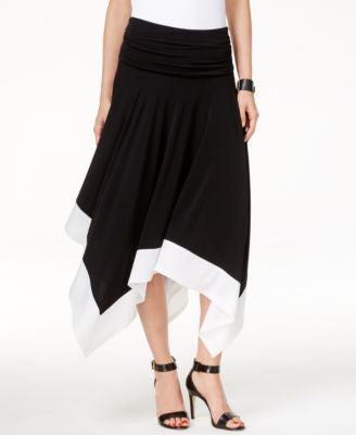 INC International Concepts Petite Handkerchief-Hem Convertible Skirt, Only at Vogily