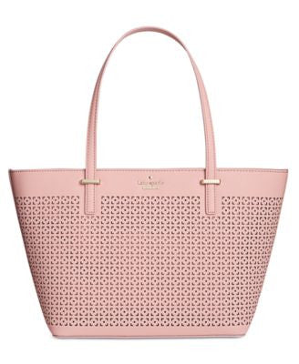 kate spade new york Cedar Street Perforated Mini Harmony Shopper