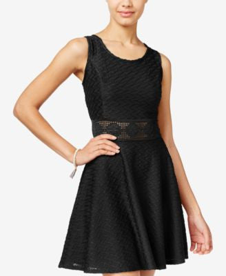 American Rag Crochet A-Line Dress, Only at Vogily