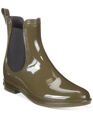 INC International Concepts Women's Rubiee Chelsea Rain Booties, Only at Vogily