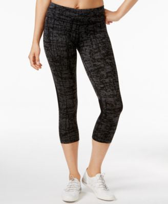 Calvin Klein Performance Textured Capri Leggings