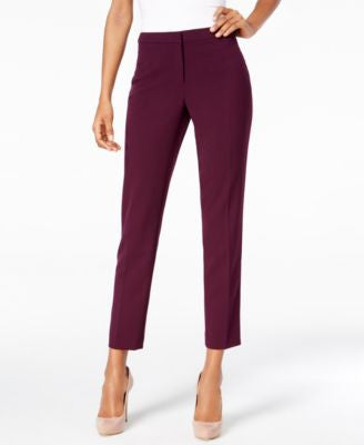 Calvin Klein Highline Straight-Leg Pants