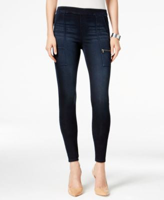 Style & Co. Petite Cargo Caneel Wash Jeggings, Only at Vogily