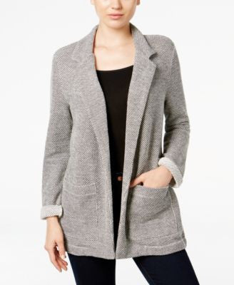 Style & Co. Open-Front Terry Blazer, Only at Vogily