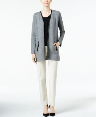 Charter Club Marled Open-Front Cardigan, Only at Vogily