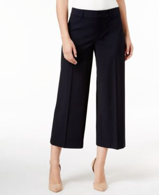 Charter Club Cropped Wide-Leg Pants, Only at Vogily