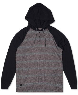 Rip Curl Men's Colorblocked Striped Hoodie