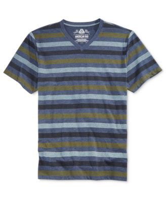 American Rag Men's Holiday Stripe T-Shirt, Only at Vogily