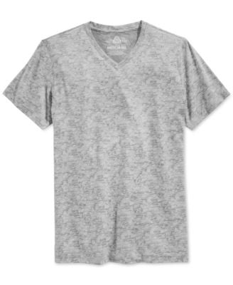 American Rag Men's Printed V-Neck T-Shirt, Only at Vogily