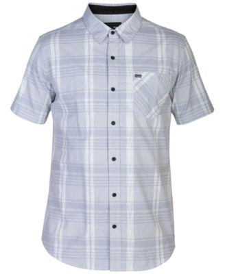 Hurley Men's Jacob Plaid Short-Sleeve Shirt