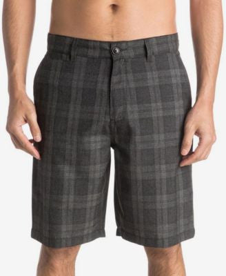 Quiksilver Men's Regeneration Plaid Shorts