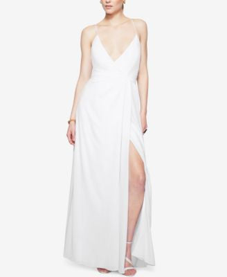Fame and Partners Backless Multi-Strap Maxi Dress