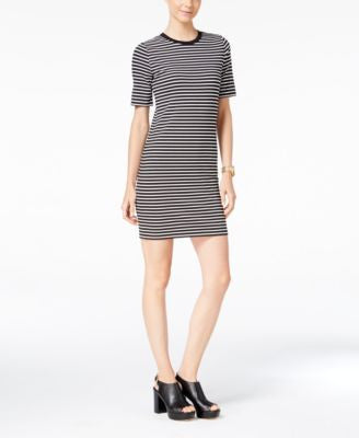 MICHAEL Michael Kors Petite Striped T-Shirt Dress