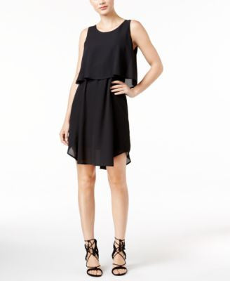NY Collection Petite Sleeveless Popover Dress