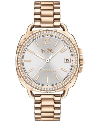 COACH Women's Tatum Gold-Tone Stainless Steel Bracelet Watch 34mm 14502590