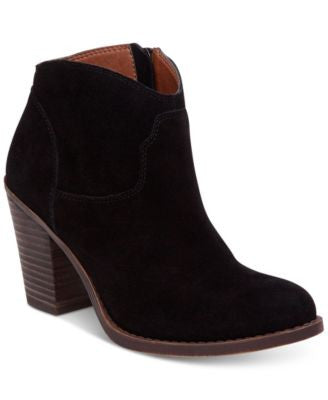 Lucky Brand Women's Eller Side-Zip Booties