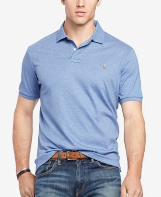 Polo Ralph Lauren Men's Big & Tall Pima Soft-Touch Polo