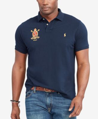 Polo Ralph Lauren Men's Big & Tall Featherweight Polo