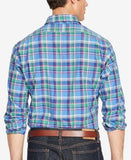 Polo Ralph Lauren Men's Big & Tall Plaid Estate Shirt