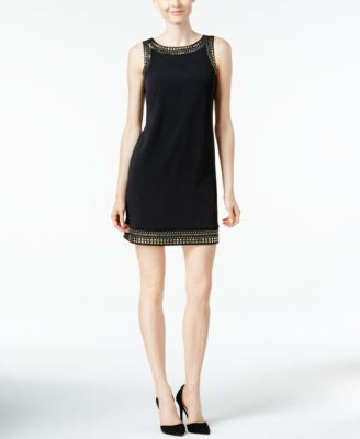 Jessica Howard Petite Studded Shift Dress
