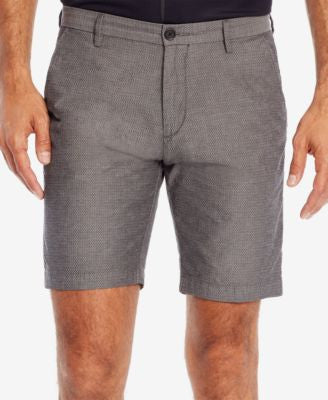 BOSS Men's Slim-Fit Textured Stretch Shorts