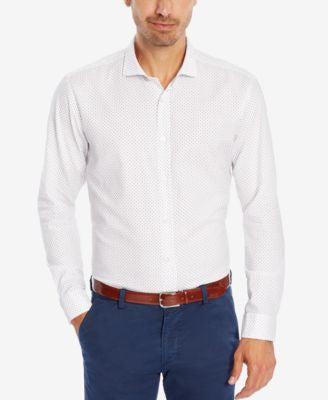 BOSS Men's Slim-Fit Button-Down Shirt