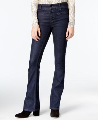 Free People Slim Flared Trouser Jeans