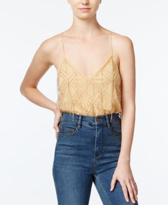 Free People Gatsby Embellished Camisole