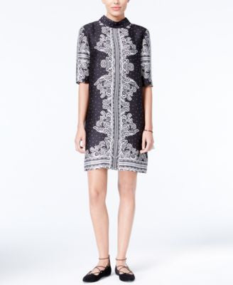 RACHEL Rachel Roy Printed Shift Dress