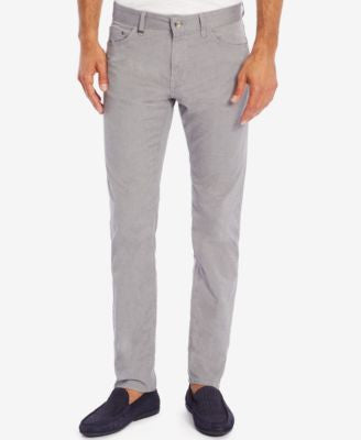 BOSS Men's Regular/Classic-Fit Textured Stretch Jeans