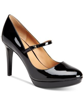 Calvin Klein Paislie Mary Jane Platform Pumps