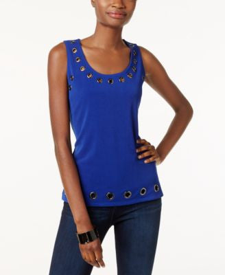 INC International Concepts Embellished Tank Top, Only at Vogily