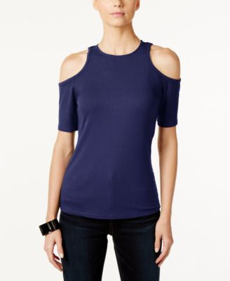 INC International Concepts Cold-Shoulder Top, Only at Vogily