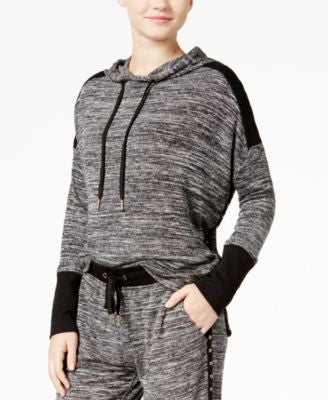 Material Girl Juniors' Marled French Terry Hoodie