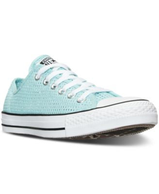 Converse Women's Chuck Taylor Ox Perfed Casual Sneakers from Finish Line
