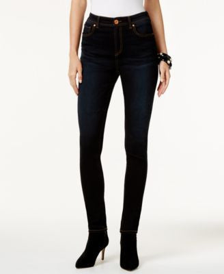 INC International Concepts High-Waist Stinger Wash Skinny Jeans, Only at Vogily
